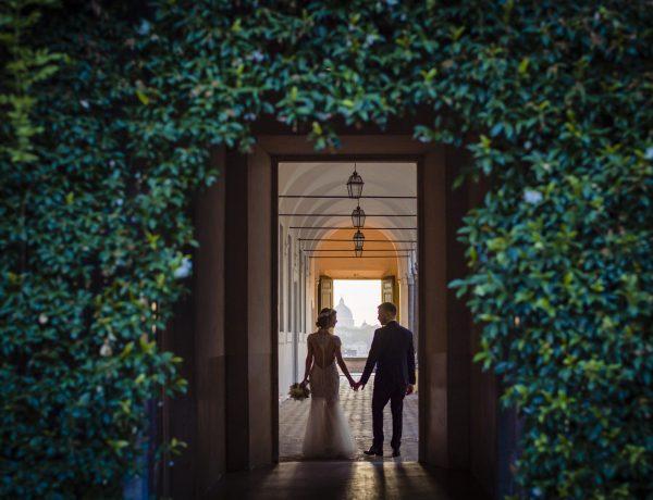 Matrimonio nella Basilica di Santa Sabina
